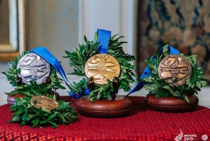 Стала известна сумма призовых для украинских спортсменов за медали на Европейских играх