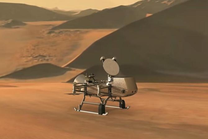 NASA впервые отправит зонд на Титан - аппарат будет лететь 8 лет  [видео]