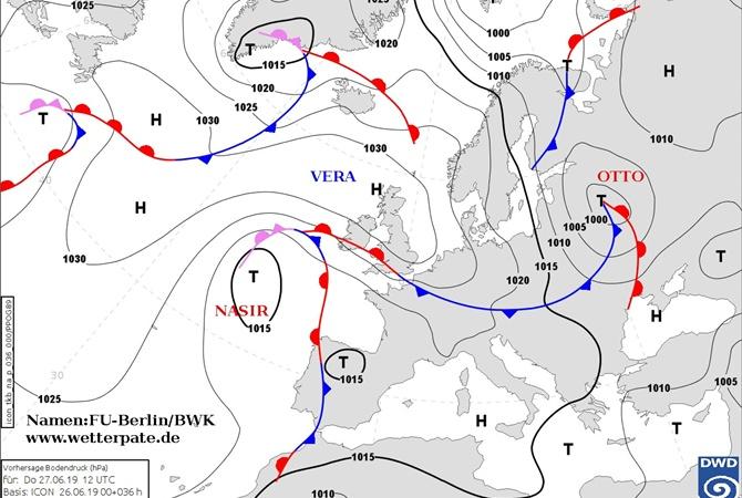 """В Украину пришел холодный циклон """"Отто"""" из Прибалтики [видео]"""