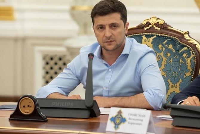 """Зеленский заявил, что  """"у таких, как Медведчук, не будет монополии на телевидение"""" [видео]"""