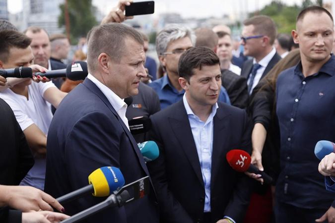 Владимир Зеленский и Борис Филатов заключили пари