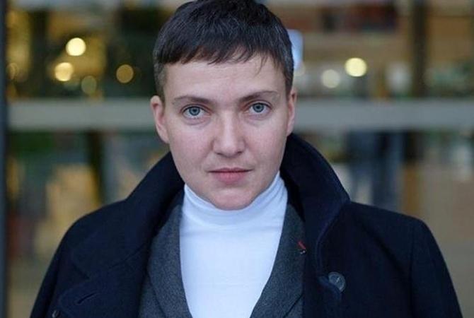СБУ не пустила Савченко в Донбасс
