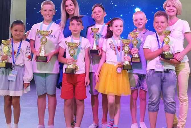 Школьники из Кривого Рога стали чемпионами мира по ментальной арифметике