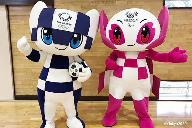 В Токио презентовали талисманов Олимпиады-2020