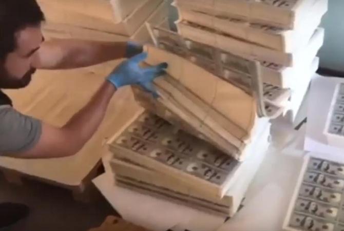 В Турции накрыли типографию с 271 миллионом фальшивых долларов [видео]