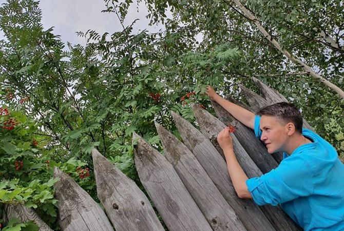 Савченко показала, чем занимается после ухода из политики [фото]