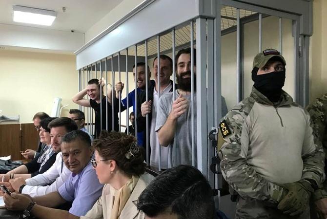 В ФСБ закончили расследование против украинских моряков