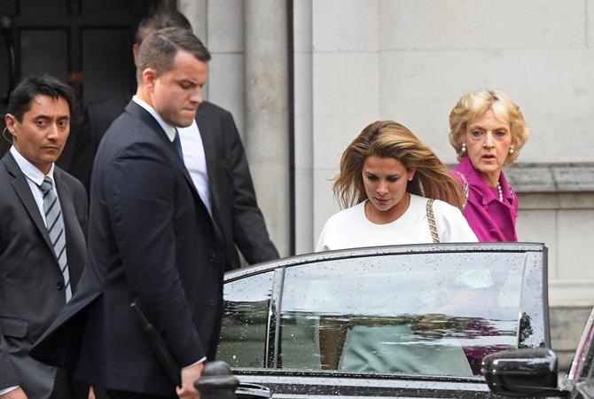 Принцесса ОАЭ сбежала, чтобы ее дочь насильно не выдали замуж [фото]