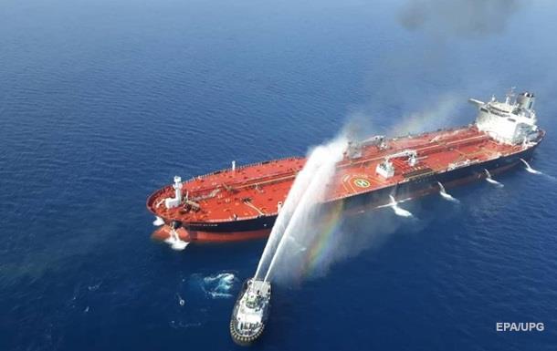 Иранский флот против британского