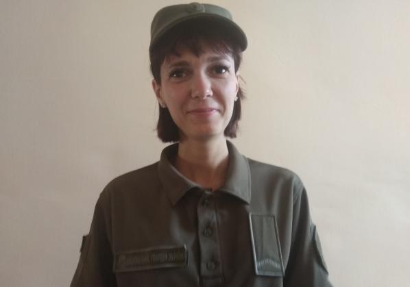 В Ровно психолог Нацгвардии спасла женщину, которая подавилась зубным протезом
