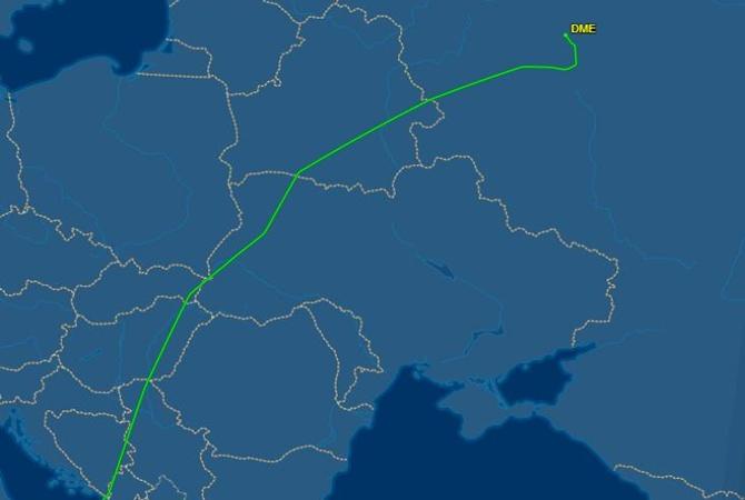 Впервые с 2015 года над Украиной пролетел российский самолет