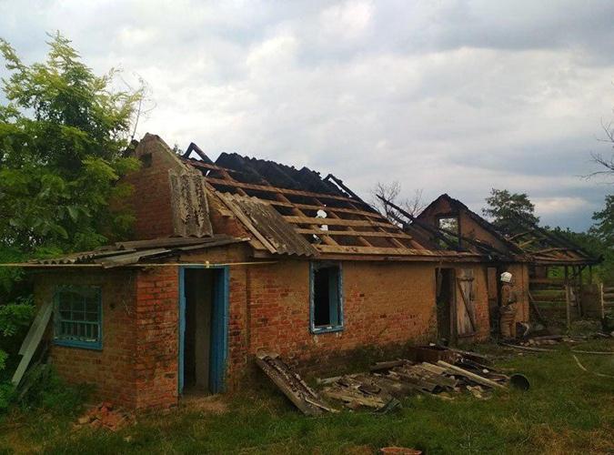 На Полтавщине во время пожара в сарае погиб 4-летний малыш