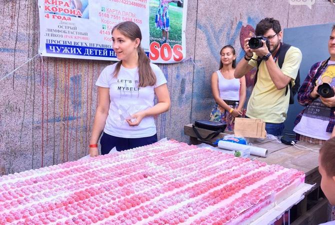 Криворожанка сварила брусок мыла 84 кг и побила рекорд Украины