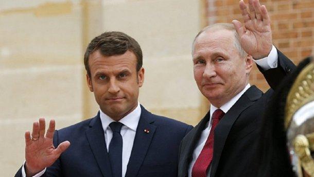 Путин встретится с Макроном, чтобы обсудить Украину
