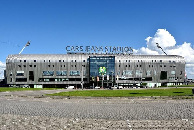 """Матч АЗ - """"Мариуполь"""" перенесли из Алкмаара в Гаагу из-за рухнувшей крыши стадиона  [фото]"""