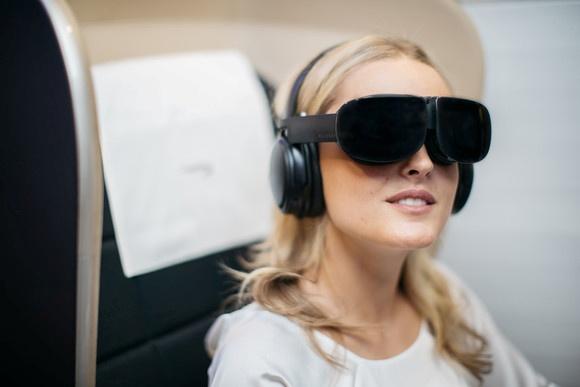 """""""British Airways"""" предложили пассажирам очки виртуальной реальности [видео]"""