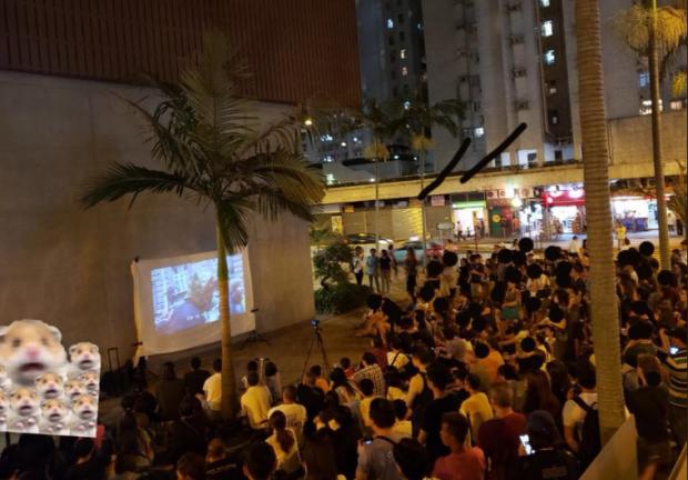 В Гонконге задержали активистов за показ фильма о Евромайдане: фото