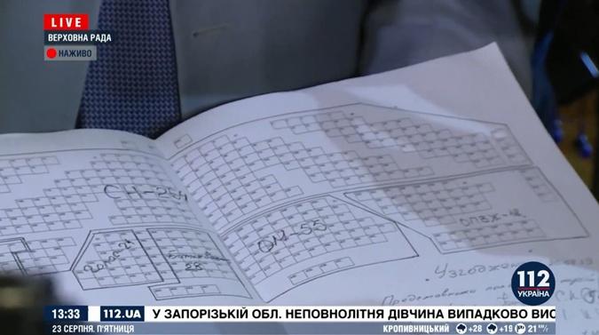 Разумков показал утвержденную схему рассадки фракций в Раде [фото]