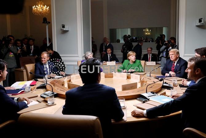 Туск предложил провести саммит G7 с Украиной и без России