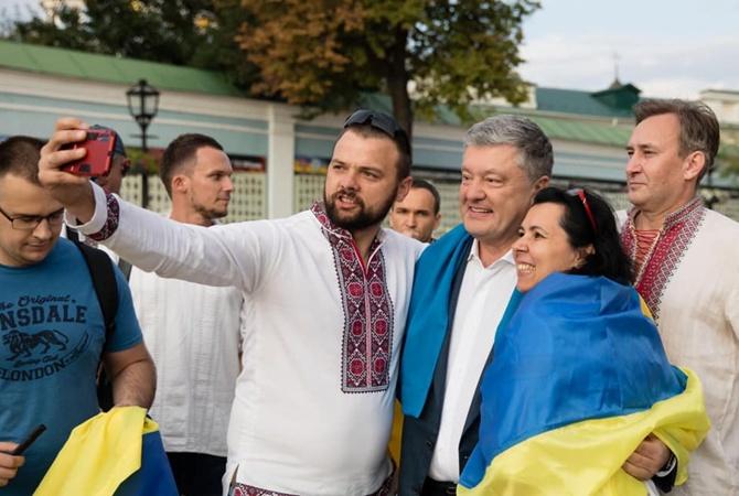 Порошенко назвал три главные вещи, которые украинцы получили за 28 лет независимости