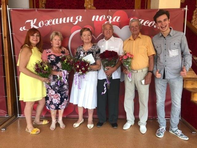 Пара из Днепра сыграла новую свадьбу спустя 60 лет