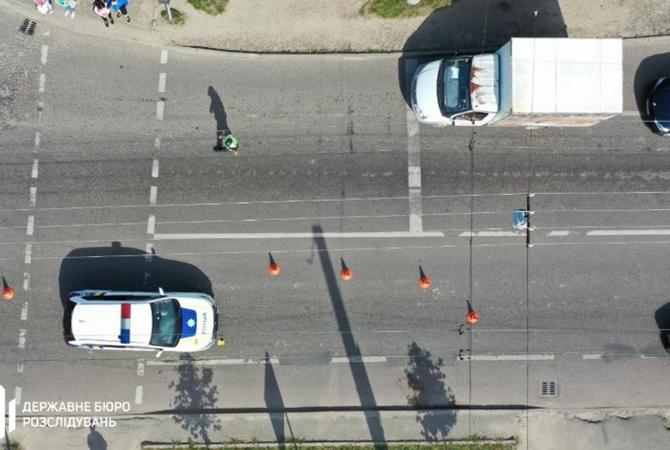 Авто патрульных сбило двух женщин во Львове [фото]