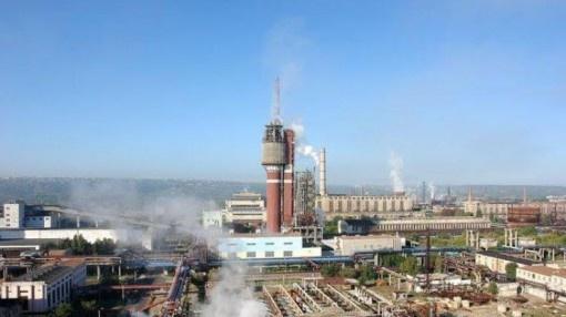 В Луганской области произошел выброс аммиака