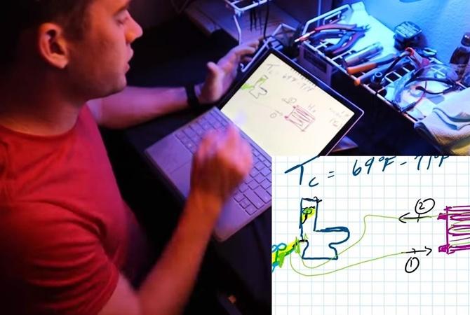 В США инженер сконструировал кондиционер с помощью унитаза [видео]