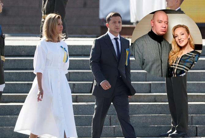 Платье для Зеленской на День Независимости сшила жена Кошевого