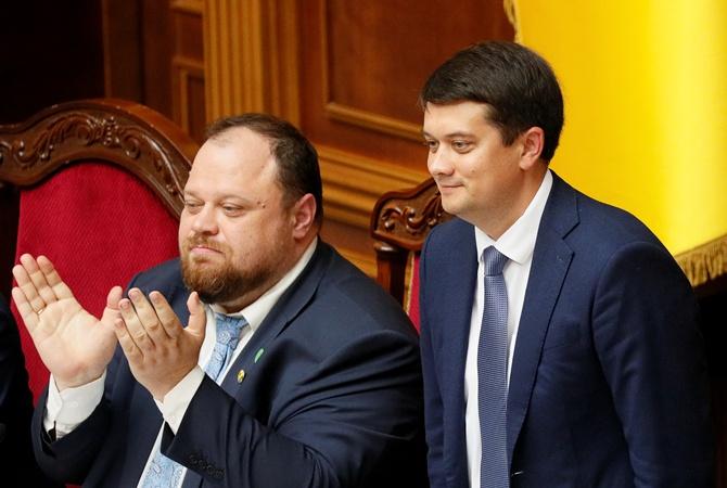 Дмитрий Разумков стал спикером парламента, а Стефанчук - его замом [видео]