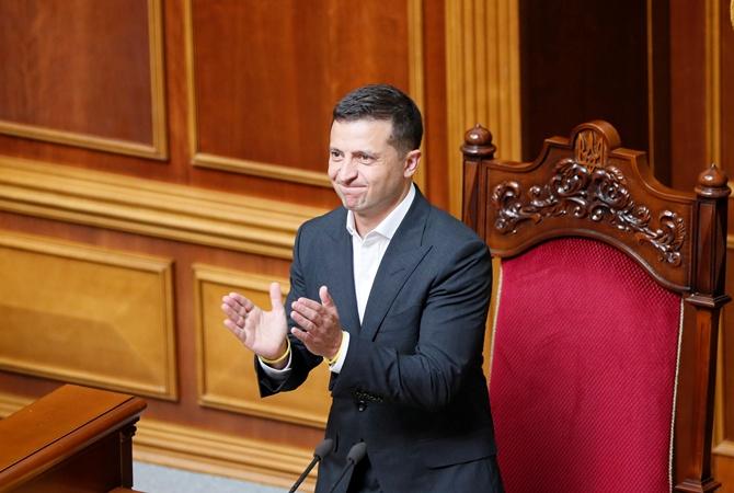 Первое заседание Рады затянулось в ночь: депутаты голосовали под присмотром Зеленского [фото, видео, обновляется]