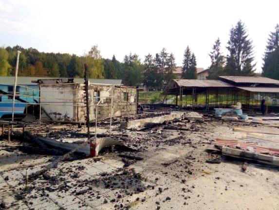 Пожар в детском лагере на Ивано-Франковщине: погиб сын экс-мэра Бурштина   [фото]