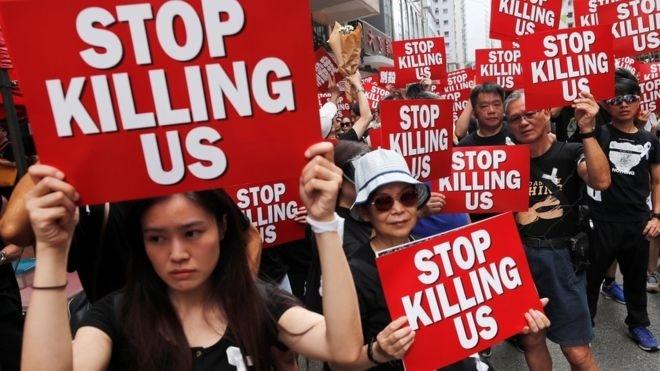 Протесты в Гонконге: Китай даже не думает отзывать законопроект об экстрадиции