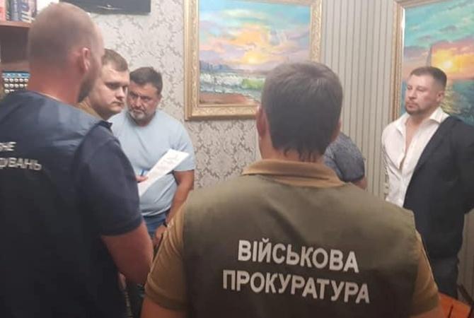"""Под Офисом президента задержали вымогателей, требовавших полмиллиона за должность в """"Укроборонпроме"""" [видео]"""