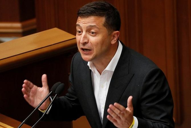 Зеленский вновь внёс законопроект о снятии неприкосновенности