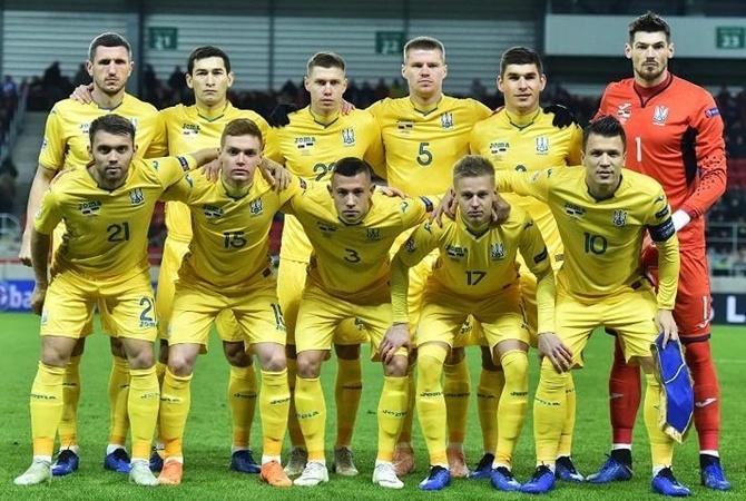 Сборная Украины выиграла у Литвы в отборе на Евро-2020