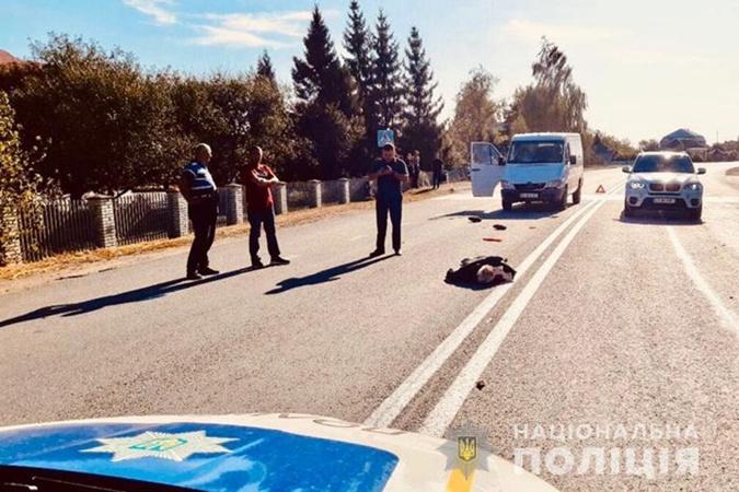 Брат мэра Ивано-Франковска получил сердечный приступ после того, как сбил человека [фото]