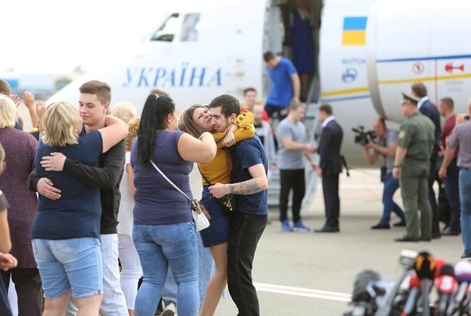 """Проходить реабилитацию в """"Феофании"""" остаются восемь бывших пленных"""