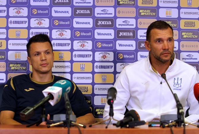 Андрей Шевченко: Нам важно, чтобы Коноплянка набирал форму [видео]