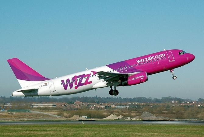 Wizz Air запускает два новых рейса в Украину