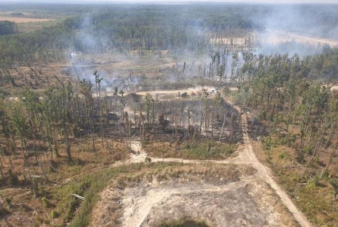 Украина в огне: пылали военные склады, а сейчас Чернобыль