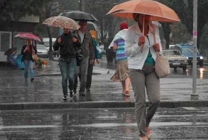 Завтра, 14 сентября, местами пройдут дожди