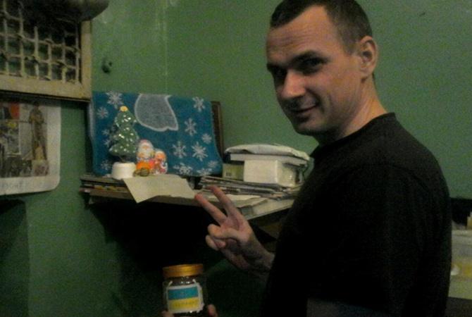 Сенцов опубликовал единственный снимок из тюрьмы