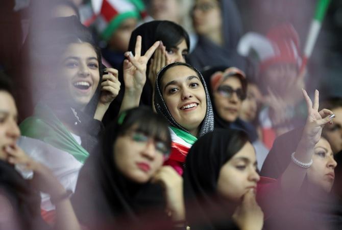 В Иране спустя 40 лет женщинам снова разрешили ходить на футбол