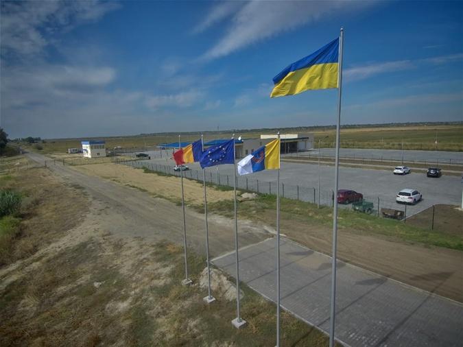 Между Украиной и Румынией запустили паромную переправу [фото]