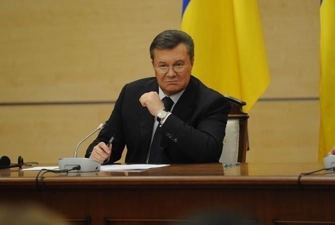ГПУ: санкции против Януковича никто не отменял