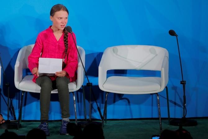 Шведская активистка мировым лидерам: Все, о чем вы можете говорить, это деньги и сказки о бесконечном экономическом росте [видео]