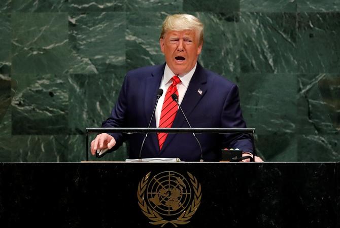 Речь Трампа на открытии Генассамблеи ООН: ругал Китай и коммунизм, про Россию и Украину не вспомнил [фото]