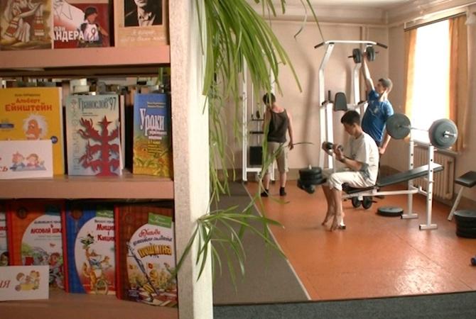И мышцы накачать, и мозг: в Моринцах открыли фитнес-библиотеку