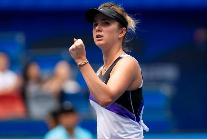 Свитолина обыграла россиянку и прошла в четвертьфинал турнира в Китае [видео]